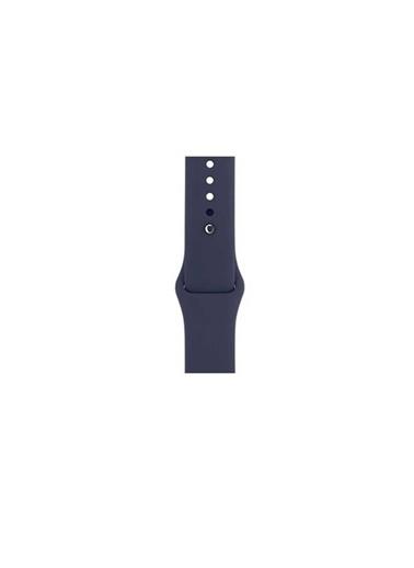 Bludfire Apple Watch Silikon Kordon Kayış 1 | 2 | 3 | 4 | 5 - 42Mm 44Mm - Lacivert Lacivert